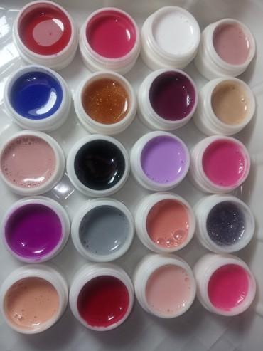 Gelovi za nokte u boji 20 gelova - Kikinda