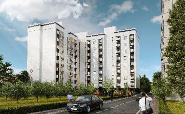 Новый, комфортный 9 этажный жилой дом комфорт класса 《SEITEK》по
