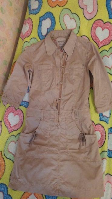 снять времянку в Азербайджан: Платье х/б на весну-лето,размер S(36),стильное,привозное,прекрасное
