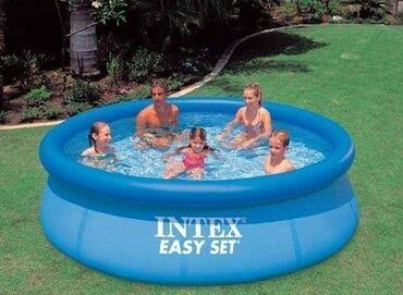 Pvc vrata - Srbija: 5600 dinIntex Bazen Easy Set 244 x 76cm Easy Set bazeni (ES) su