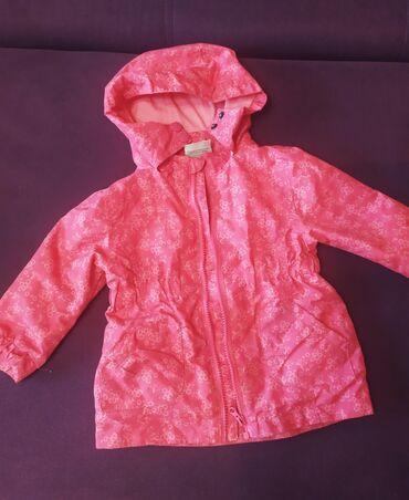 Куртка демисезон, отл сост, двойной замок, размер 80 см фирменная
