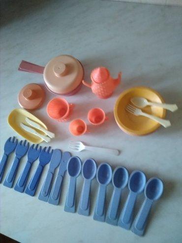Посуда детская. Остатки от разных наборов. в Бишкек