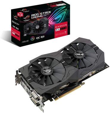 Продаю видеокарту Radeon RX570 Asus Strix 4gb 256bitВ отличном