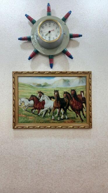 Антикварные часы - Азербайджан: Korpusu temız bronza mexaniki,tam işlek veziyyetde,el işi gemi saati