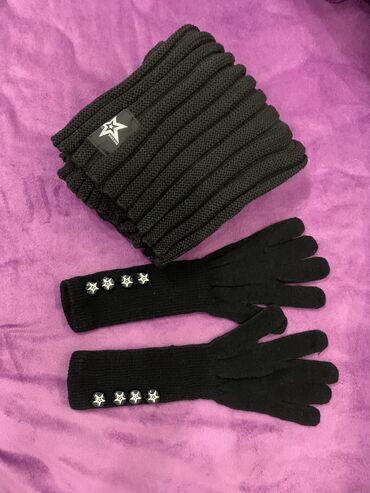 be the legend oriflame в Кыргызстан: Комплект шарф и перчатки от oriflame