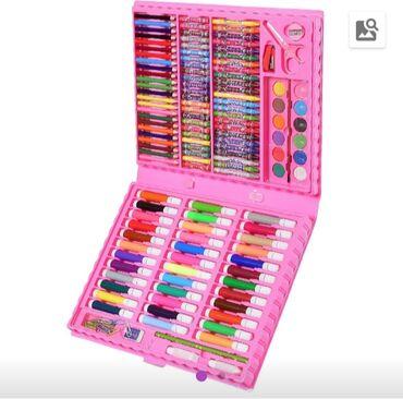 Продаю новый набор для рисования, чемодан для творчества, цена 1100 по
