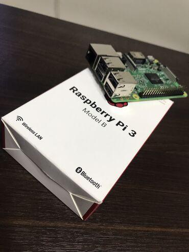 Raspberry Pi 3b Model B  Зарядник и флешка 32ГБ в комплекте