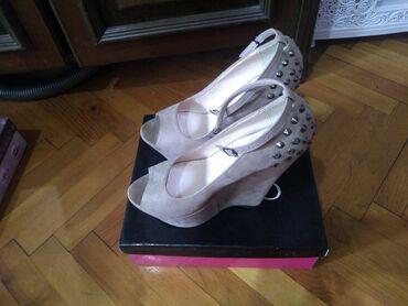 Kozni kaisevi - Srbija: Na prodaju bez polucipele sa ortopetskom petom br 39 sa ukrasnim