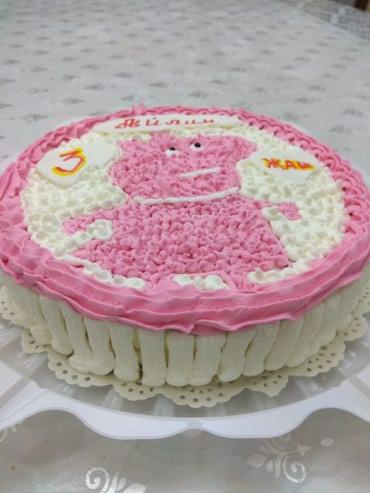 Торты - Кыргызстан: Торты пирожные капкейки на заказ