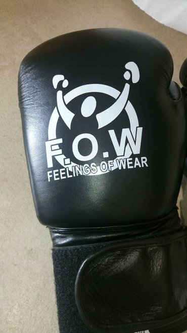 Γάντια πυγμαχίας, γνήσιο δέρμα :cowhide leather. καινουρια!!!