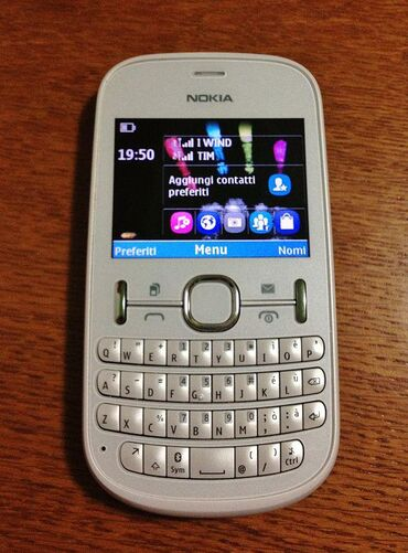 nokia-asha-200 в Азербайджан: Nokia Asha 200 Əla vəziyyətdə. İki nömrə dəstəkləyir