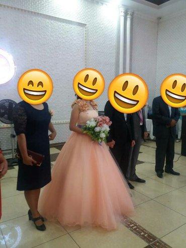Продаю очень красивое платье одевало один раз на кыз узатуу. в Бишкек