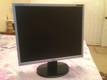 мониторы grey в Кыргызстан: Продаю монитор LG 19 дюймов в отличном состоянии! С проводами!