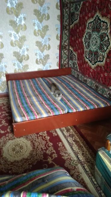 Кровать двух спальная в Каракол