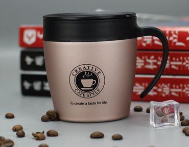 Новая вакуумная кружка для кофе 330 мл, термос с изоляцией из