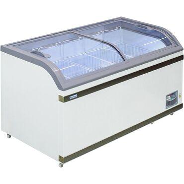 Морозильные лари с гнутыми стеклом, новое поступление. Цены