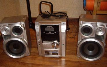 radio antik - Azərbaycan: Musiqi mərkəzi Panasonic, model SC-VK62D, ideal vəziyyətdədir. 5 disk
