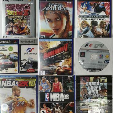 Παιχνίδια για PlayStation 2.Τιμές από 3€ μέχρι 8€ το ένα.Παρακαλώ πολύ