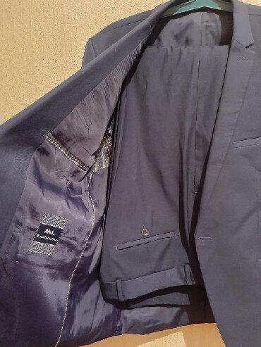 Мужская одежда - Чон Сары-Ой: Костюм классический, размер 50, светло синий, состояние отличное