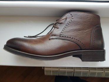 Alberto Rossi kozne cipele. Nove braon/crne duboke kozne cipele