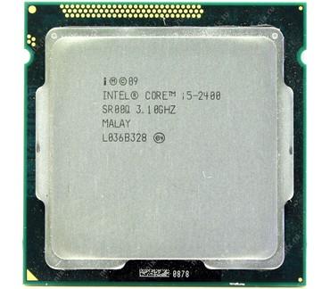 socket 1155 материнская плата в Кыргызстан: Intel Core I5-2400 3.1-3.4 Ghz/6MB/ Mhz.**********Четырехъядерный