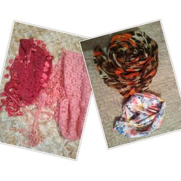 Платки шарфы. новые красивые каждая по 50с. можно на обмен в Бишкек
