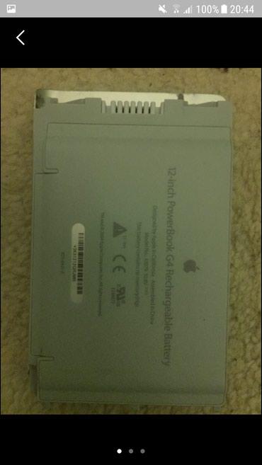 Baterija za apple powerbook g4 12inch - Smederevska Palanka