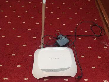 Роутер 3 в 1, TP-link W7901N модем Wi-Fi и хаб в городе Ош, 150м/бит 3