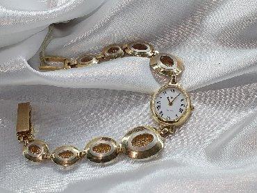 часы карманные в Кыргызстан: Наручные золотые часы из желтого золота 585проба. Длина 21см