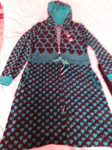 Продается халат со штанами Фирма RamtexРазмер 44-46Ткань бархатЦвет -