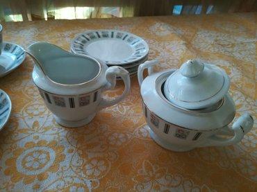 Porcelanski servis za čaj - Belgrade