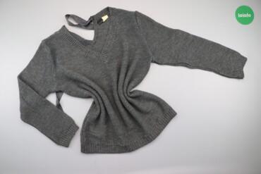Жіночий светр зі стрічкою Bodyflirt, p. XL/XXL    Довжина: 71 см Ширин