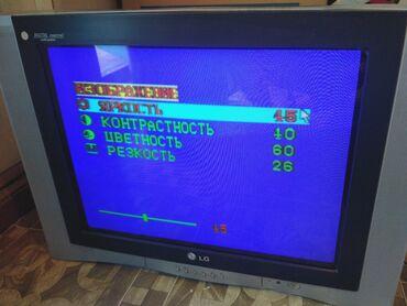 телевизор 72 диагональ в Кыргызстан: Продаю б/у телевизор LG модель CT-29Q42EF в рабочем состоянии