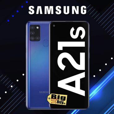 Samsung A21S 32gb en ucuz bizde qeydiyatli zemanatli!