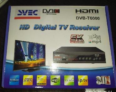 аудио ресиверы в Кыргызстан: Ресивер SVEC DVB новые проверенные в наличии. Ресивер санарип Ловит до
