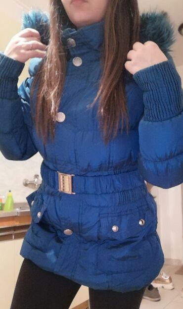 Velic da - Srbija: Odlicna jakna postavljena unutra s, m velicine, moze jos da se razvuce