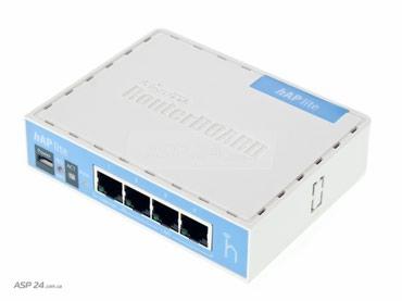 Роутер MikroTik hAP Lite RB941-2nD, Wi-Fi 2,4 ГГц, 802.11 в Бишкек