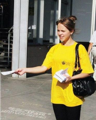 Девушки - набор на раздачу листовок! от в Бишкек