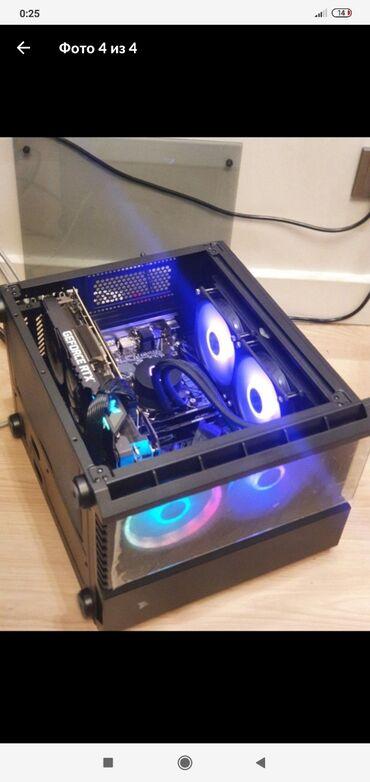 Электроника - Узген: Продаю мощный игровой системный блок 11-последняя поколенияПрoцeсcoр