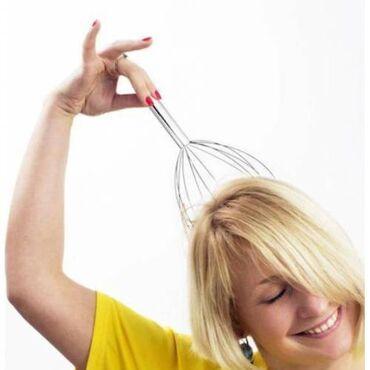 Baş üçün masaj 💆♀️ aleti beyini dinceldir 🧠 cox super effekti var