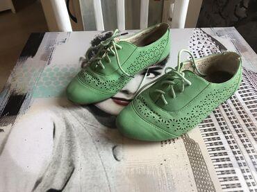 Ženska patike i atletske cipele | Srbija: Zelene cipelice 36 broj kao nove