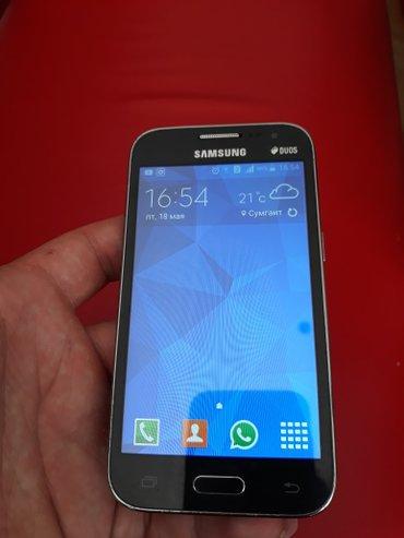 Sumqayıt şəhərində Samsung core prime 361 ela veziyetdedir hecbir prablemi yoxdur.qoymet