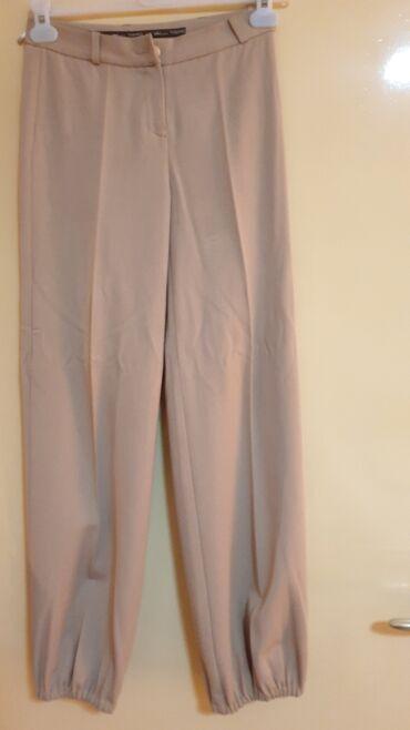 Elegantne pantalone - Srbija: ZARA-ELEGANTNE PANTALINE VEL S-M MADE IN ITALY-HITNO