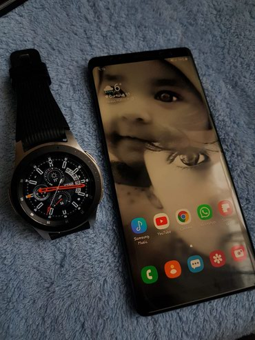 Samsung Note 8 64gb & Samsung Watch 46mm - 1250 AZN в Xırdalan