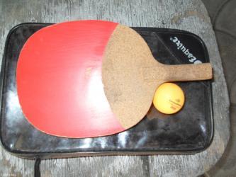 Ракетки - Кыргызстан: Продаю одну ракетку для настольного тениса