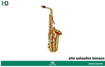Bakı şəhərində Yeni alto saksafon fransa firmasina mexsus