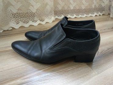 Туфли - Кок-Ой: Мужские туфли, размер 40. б/у . Натуральная кожа!