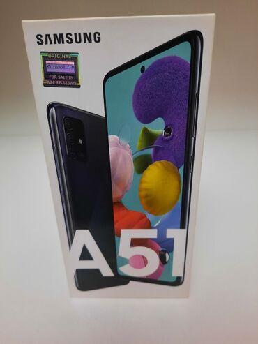 en ucuz plansetler - Azərbaycan: Yeni Samsung A51 64 GB qara