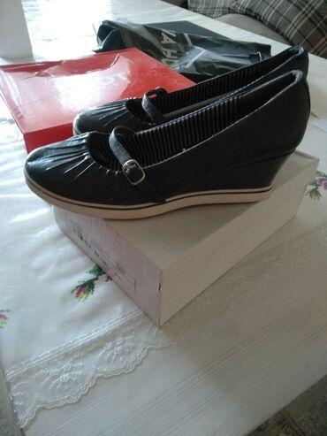 Туфли/лодочки. Серого цвета. Новые. Размер: 40.5-41. Туфли. Оранжевый