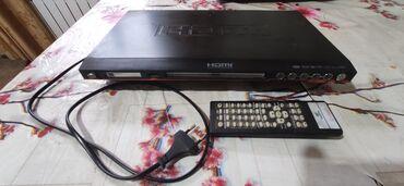 диски музыка в Кыргызстан: Продаю DVD проигрыватели 2 шт и один ресивер для спутникового ТВ. За